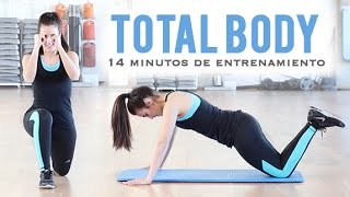 TOTAL BODY: TONIFICA TU CUERPO | Ideal para principiantes 14 minutos