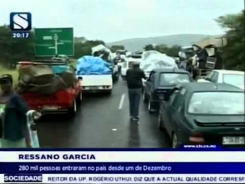280 mil pessoas entraram no país desde um de Dezembro via Ressano Garcia