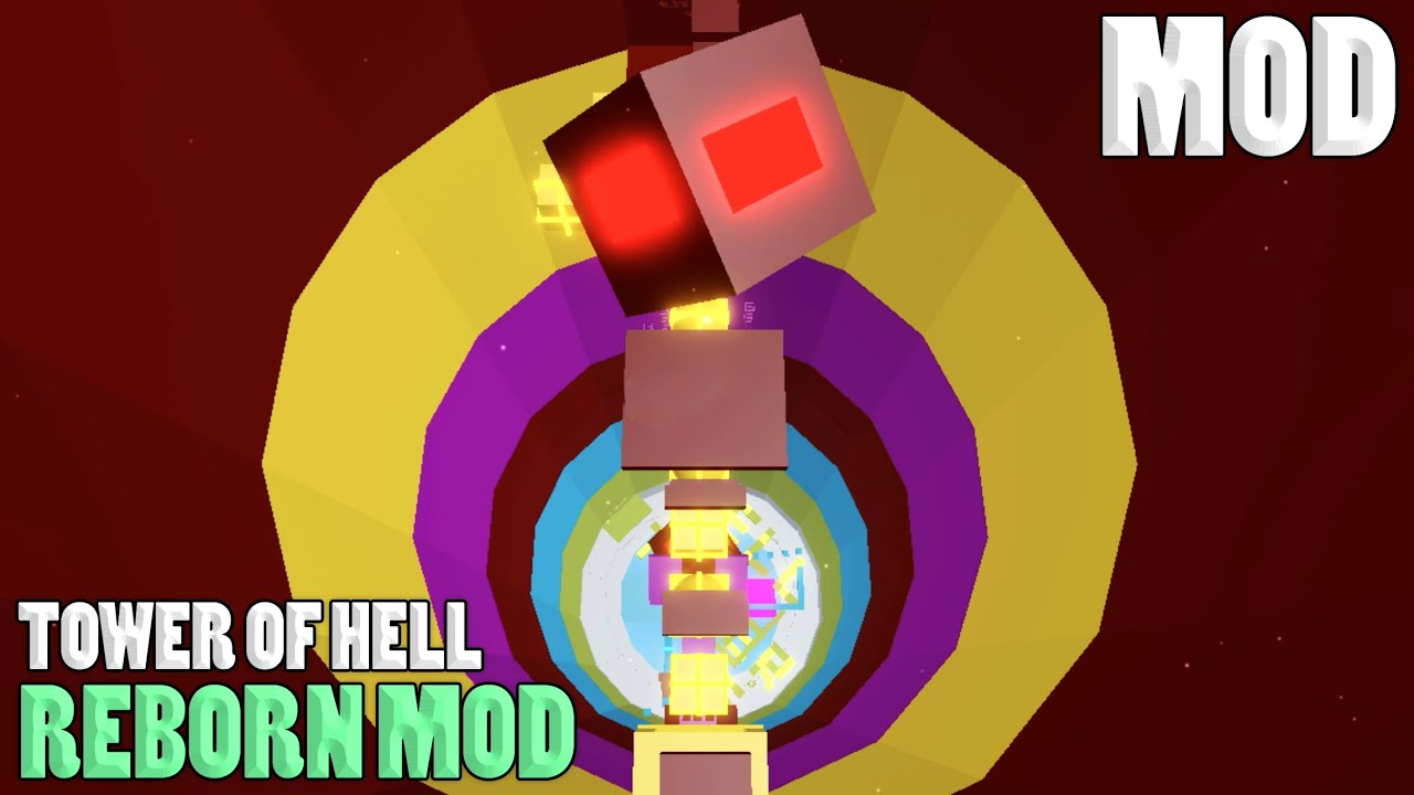 New Mod Reborn Mod Tower Of Hell Roblox Youtube