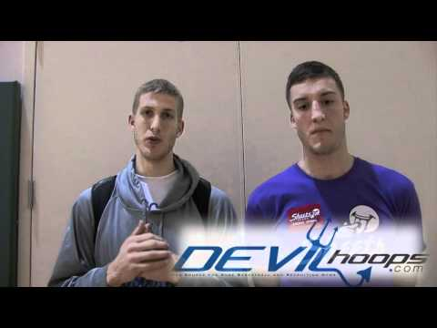 DevilHoops.com: Miles and Mason Plumlee Amare Stoudemire Skills Academy Interview