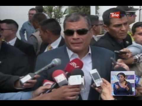 Presidente Correa se reúne con el buró de Alianza País