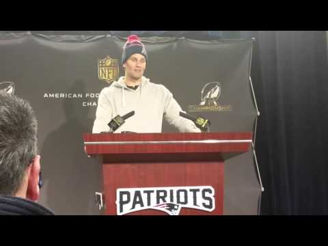 Tom Brady discusses talk of him being a crybaby