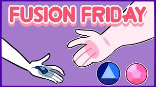Fusion Friday   Rose Quartz/Sapphire   Speedpaint
