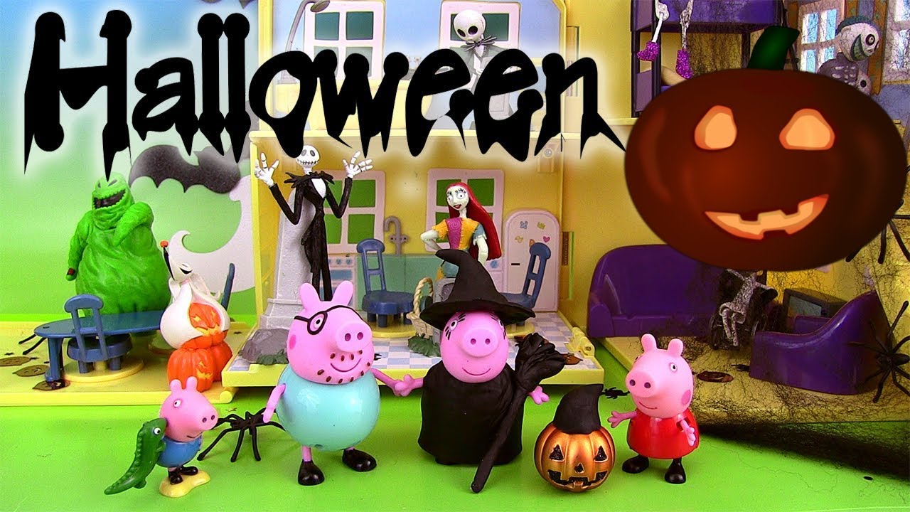 peppa pig halloween maison de luxe deluxe haunted house. Black Bedroom Furniture Sets. Home Design Ideas