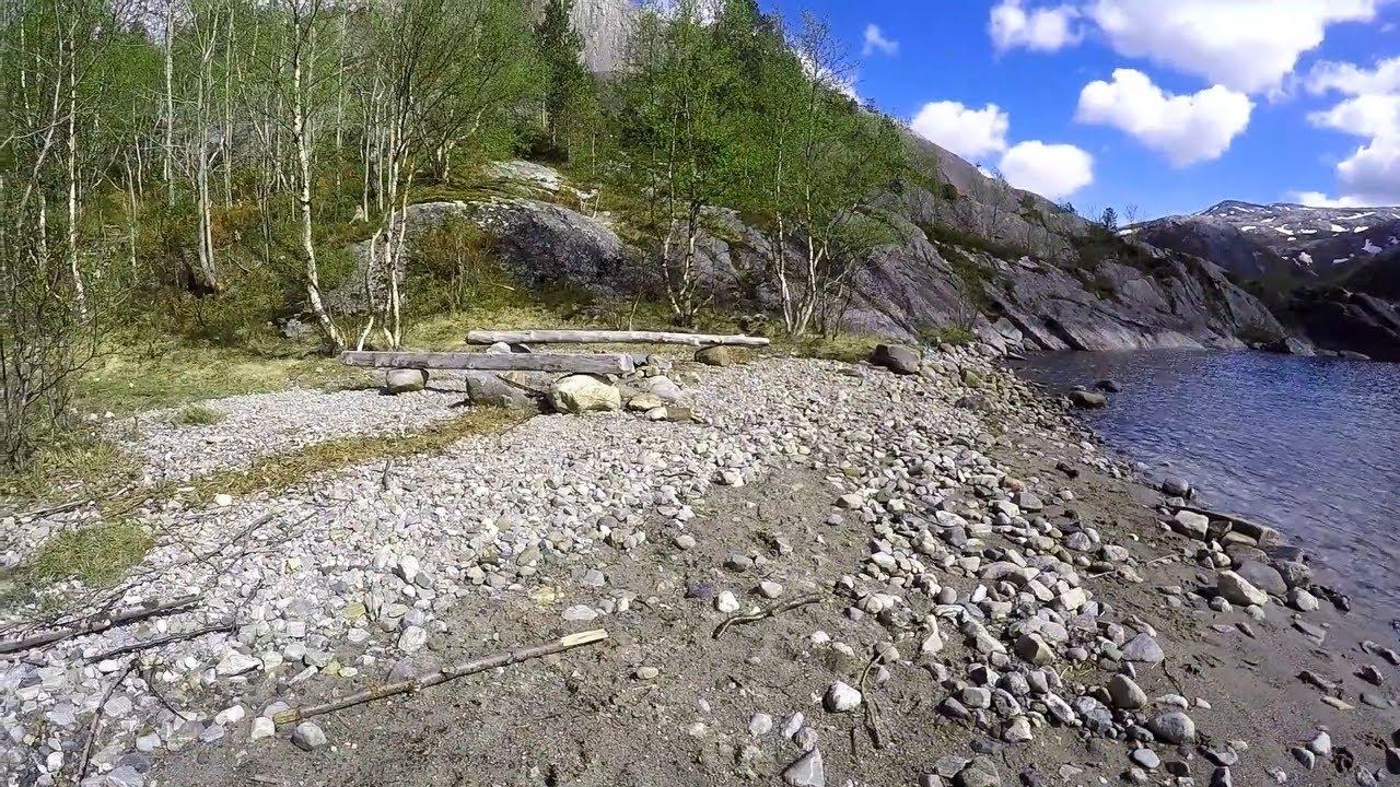 Hike to upper Vatnvatnet in Bodø