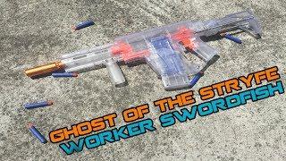 WORKER Swordfish - New Top Flywheel Blaster? | Walcom S7
