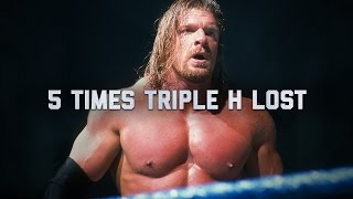 5 Superstars you won't believe beat Triple H: 5 Things