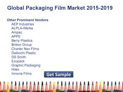 Global Packaging Film Market 2015 Share, Size, Forecast 2019