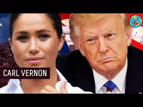 PRESIDENT Meghan Markle? Running for 2024 - Trumps Hilarious Reaction - | Carl Vernon