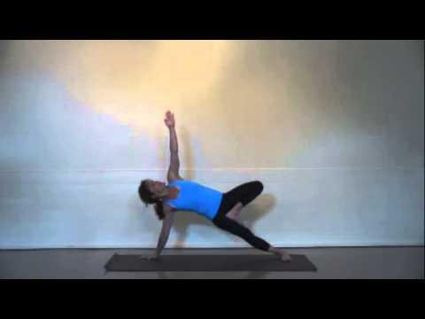 Christina Sell teaches a 60 min basic arm balance class