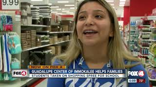 Students get shopping spree for college needs