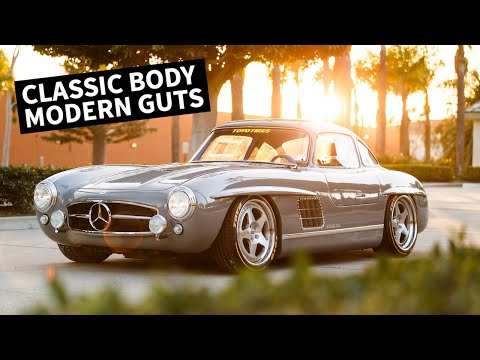 Cloning a $1M Car? Mercedes 300SL With a Modern Engine/Chassis