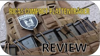 RICAS Compact Plattenräger - Review   GSP-Airsoft [german/deutsch] HD