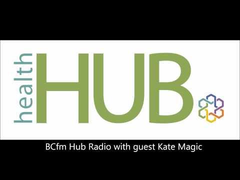 Kate Magic joins the Hub radio team at BCfm