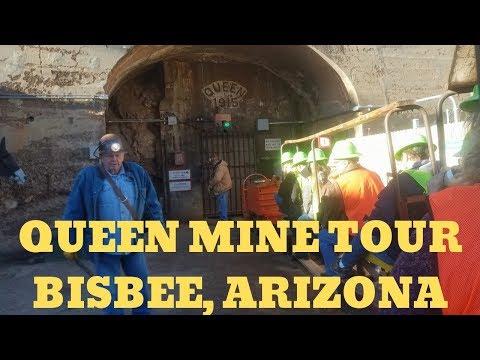 QUEEN MINE TOUR BISBEE, ARIZONA