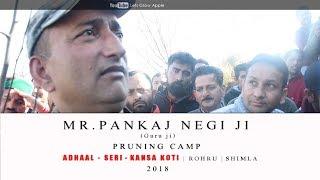 2018 | Mr. Pankaj Negi ji | Pruning Camp | ADHAAL - SERI - KANSA KOTI | ROHRU  | Shimla