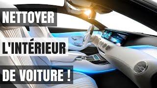 NETTOYER L'INTÉRIEUR D'UNE VOITURE COMME UN PRO !!!  (TUTO)