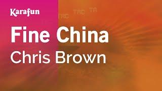 Karaoke Fine China - Chris Brown *
