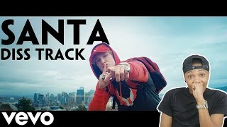 Logan Paul - SANTA DISS TRACK (Official Music Video) Reaction