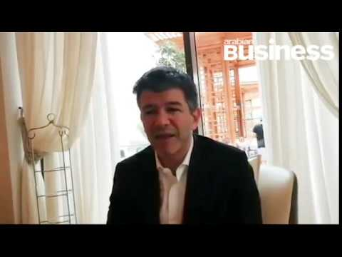 Travis Kalanick Uber CEO and co-founder in Dubai