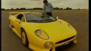 XJ220S REVIEWED ON TOP GEAR, CLARKSON