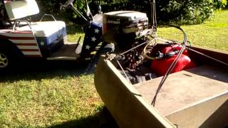 My Gruman Sport Canoe