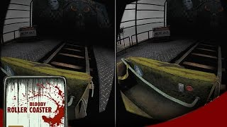Bloody Roller Coaster VR  Horror Scary Google Cardboard  3d Virtual 360 video Android games mobile