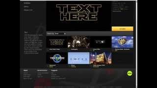 создание заставки к видео онлайн