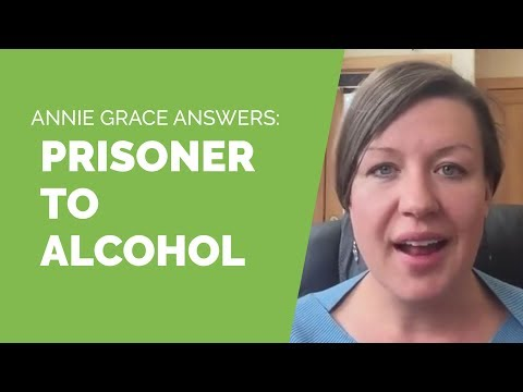 How do I get free when I'm trapped in alcohol addiction?