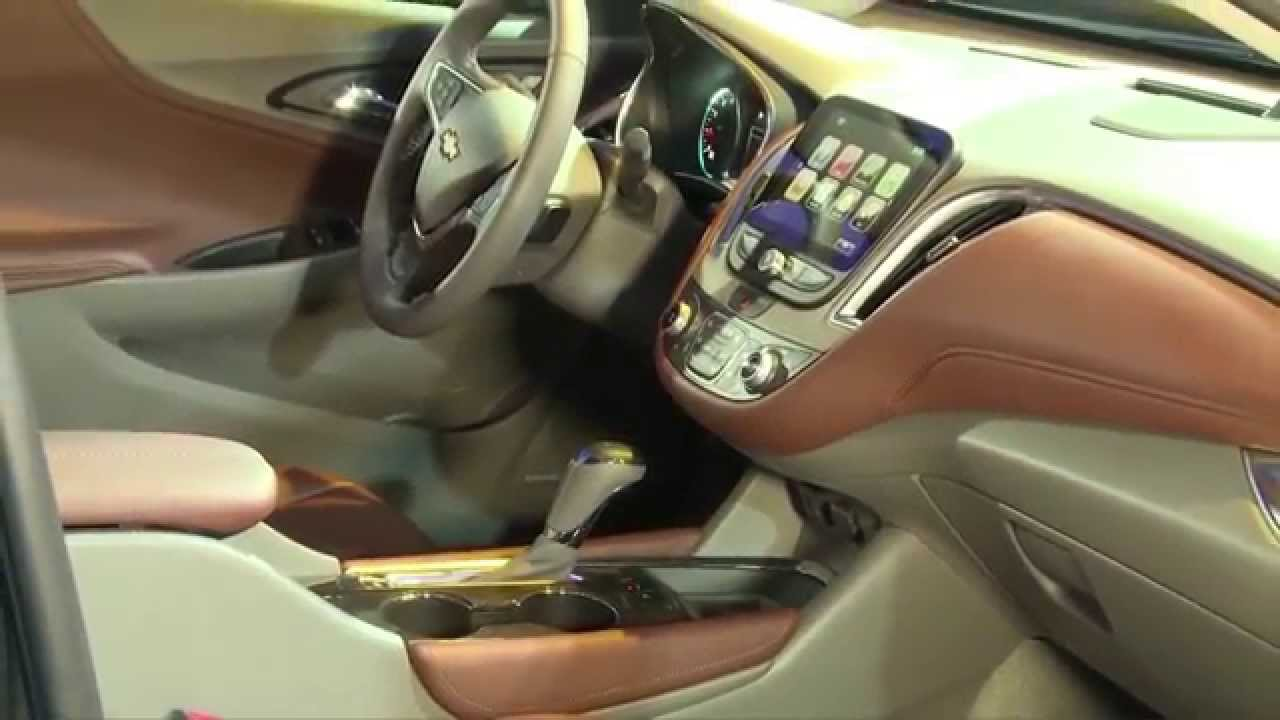2016 Chevrolet Malibu Premier Edition Interior Design Automototv You