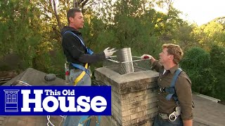 How to Install a Chimney Liner and Damper | This Old House