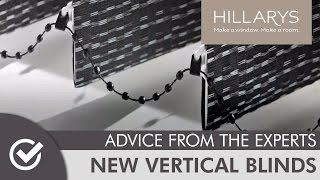 Introducing the New Vertical Blinds Collection from Hillarys