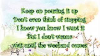 Jessica Mauboy - Pop a Bottle (Fill me up) Lyric Video