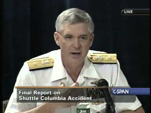 Columbia Accident Investigation Board Report Press Briefing,