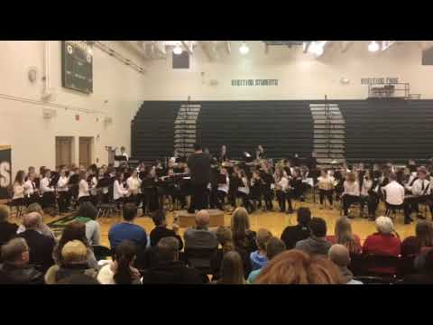 "Gretna Freshman and Aspen Creek Middle School 8th grade band ""The Queens Masque"""