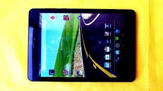 Fly Flylife Connect 7.85 3G 2 - металлический планшет с 2 SIM - видео обзор
