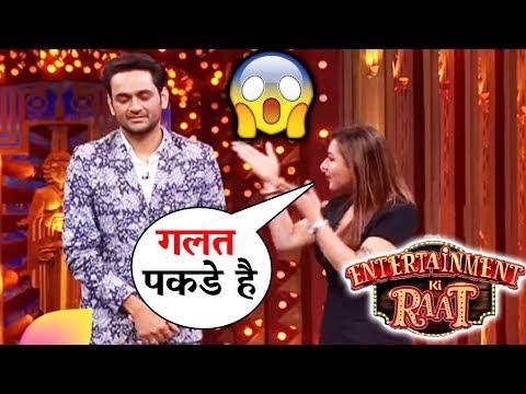 Shilpa Shinde TURNS Bhabiji For Vikas Gupta On Entertainment Ki Raat