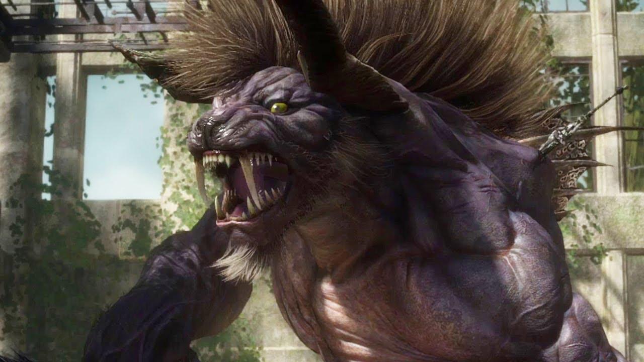 Final Fantasy XV Behemoth Boss Kill - No Summon - YouTube Behemoth Final Fantasy 15