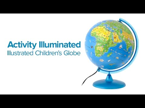 Activity Illuminated Children's Globe