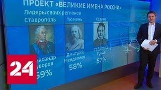 """""""Великие имена России"""": последняя битва - Россия 24"""