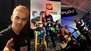 DNCE performing at 96.7 KISS FM Red Carpet Rollout