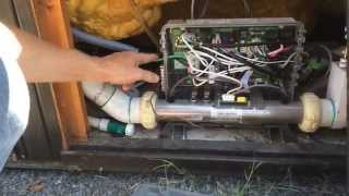 How NOT to run electrical to a hot tub! BEWARE!