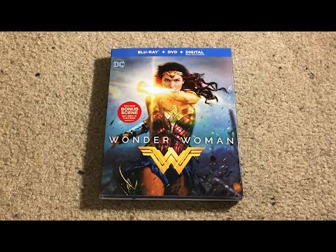 Wonder Woman Blu-Ray Unboxing