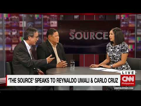 'The Source' speaks to House Justice Committee chair Reynaldo Umali and  Atty. Carlo Cruz