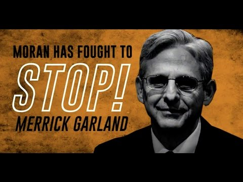 Jerry Moran - No on Garland
