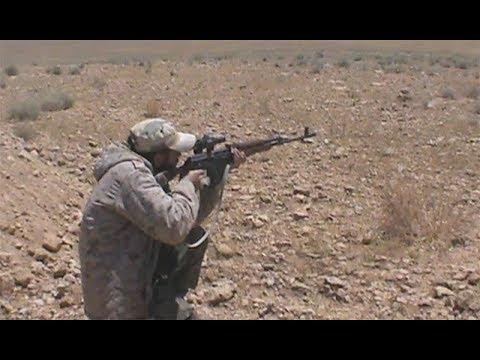 Сирийский снайпер ликвидирует