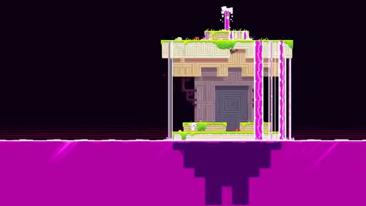 FEZ   The 20 Cube Room   YouTube