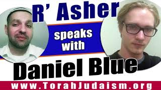 R' Asher speaks with Daniel Blue