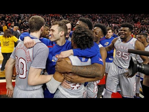 Kansas vs Texas Tech || Full Game Highlights || 2017 2018 College Basketball Season