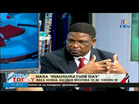 Japheth Kaluyu says Nasa's oath day is a registration of dissatisfaction